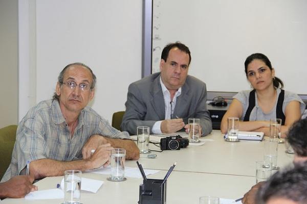 Participei da reunião em Salvador, juntamente com a equipe do prefeito e com empreendedores.