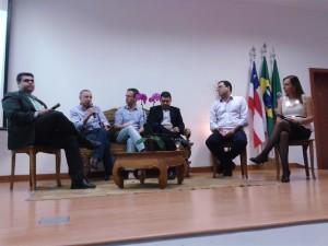 Richard Alves, Cícero Sena, Luigi Rotuno, Alex, Beto Nascimento e Martha Gabriel.